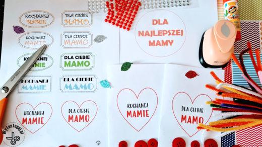Kartki na Dzień Matki - napisy i szablony